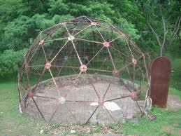 Practical training on the construction of geodesic – dome.( Oct 11-16 /2010)