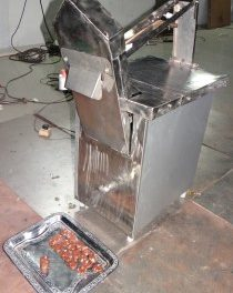 Dry Fruit Roll cutting machine …………