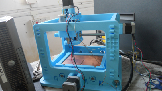 New Milling machine called 'MTM snap' Installed in FABLAB
