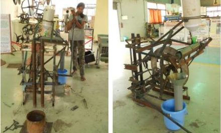 Hand pounded rice machine prototype is ready for field testing