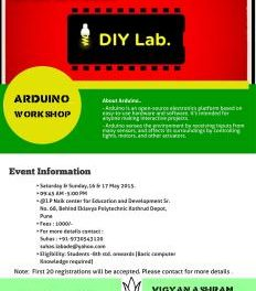 DIYLab ,Pune-Arduino workshop
