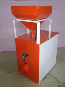 Marketable model of Rice De-husking machine ……