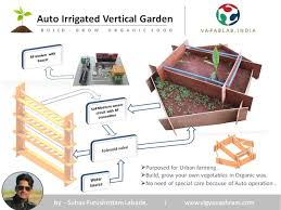 Auto-Irrigated Vertical Garden