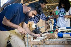 Bamboo crafts / furniture / Structures training workshop
